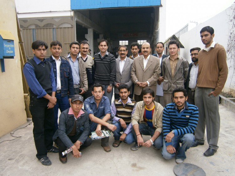 Hamdard University Engineering Students & Faculty Visited Hydrolink