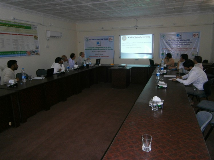 Hydrolink & GIZ Organized T15 Capacity Building Training for the Local Manufacturers and Engineers