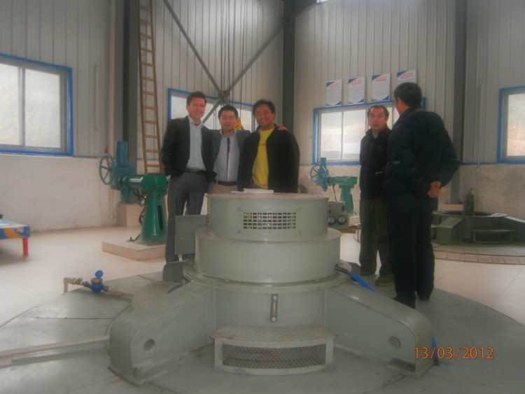 Hydrolink Team while Training in China