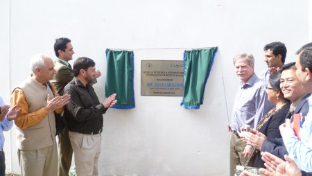 ICIMOD DG Mr. David Molden Inaugurated CRE on his Visit to Hydrolink