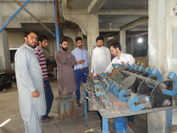 AKRSP Engineers Team Visited Hydrolink For Inspection Of  Turbines